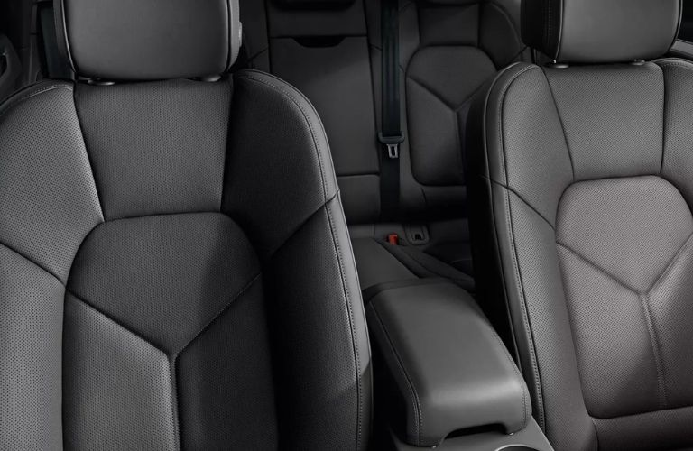 2020 Porsche Macan front seats