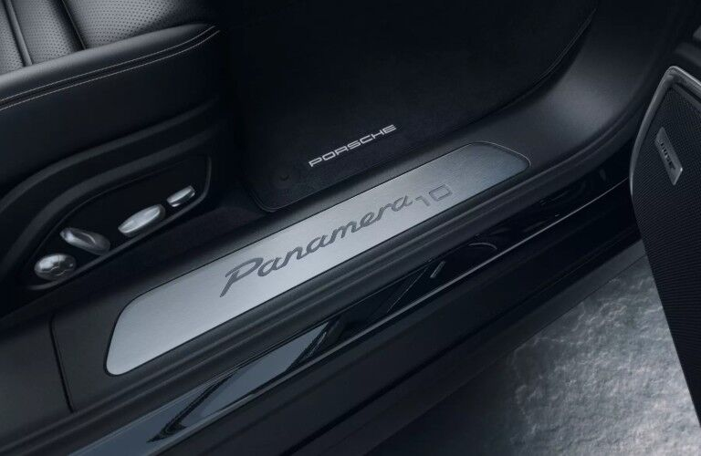 Interior view of 2020 Porsche Panamera