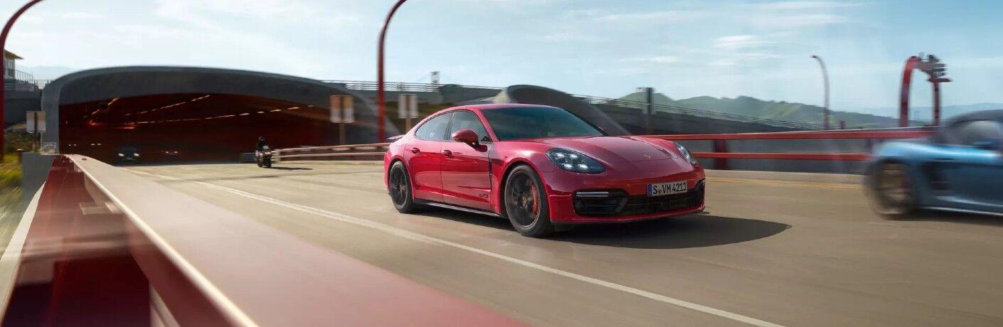 Red 2020 Porsche Panamera GTS