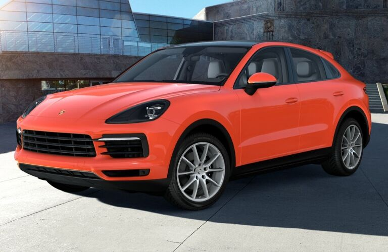 2020 Porsche Cayenne Coupe by city landscape