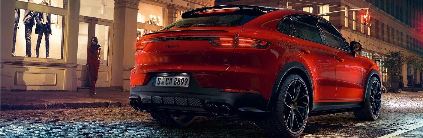 Red 2021 Porsche Cayenne