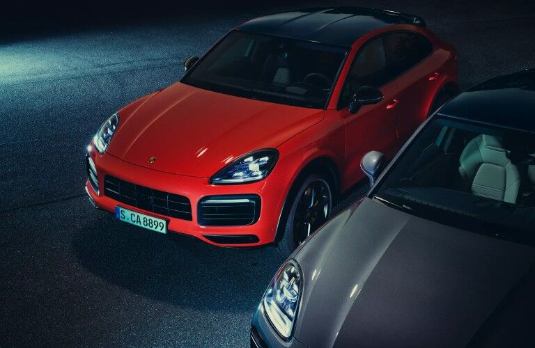 Red 2020 Porsche Cayenne Coupe