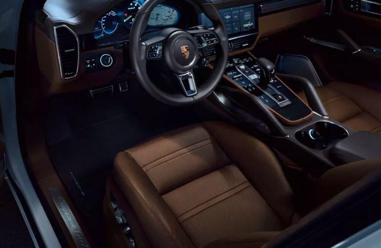 2020 Porsche Cayenne Front Seat Interior