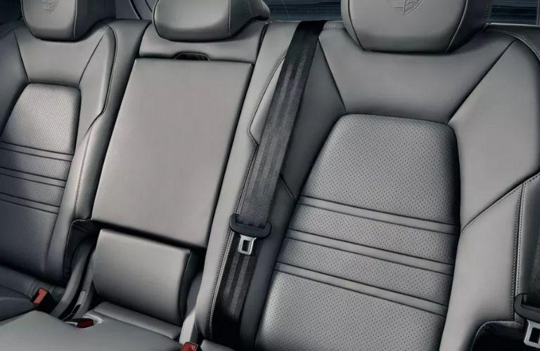 2020 Porsche Cayenne Rear Seat Interior
