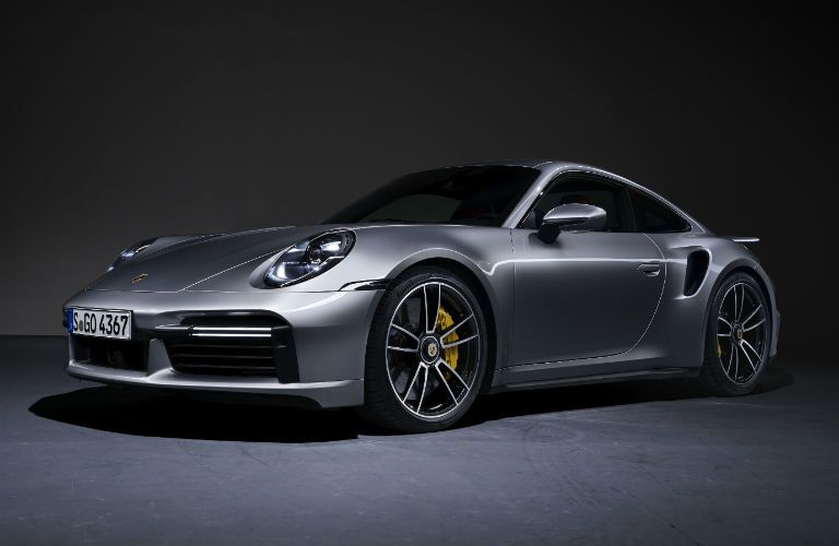 Grey 2021 Porsche 911 Turbo S