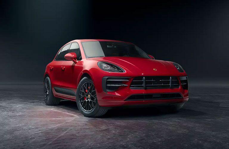 Red 2021 Porsche Macan