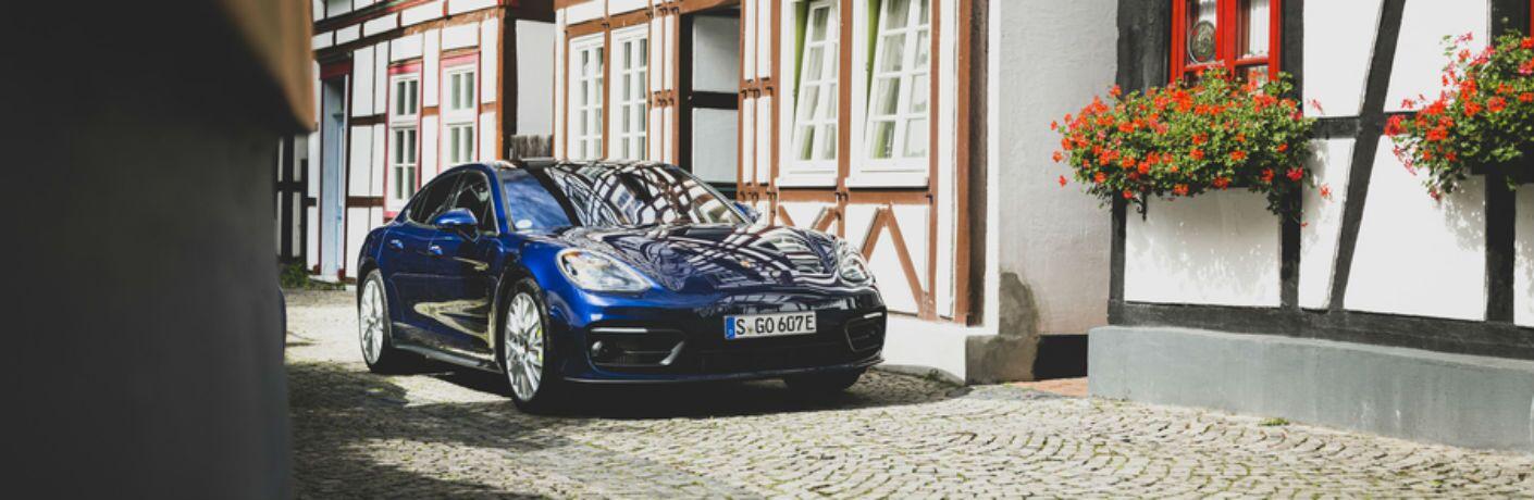 Blue 2021 Porsche Panamera