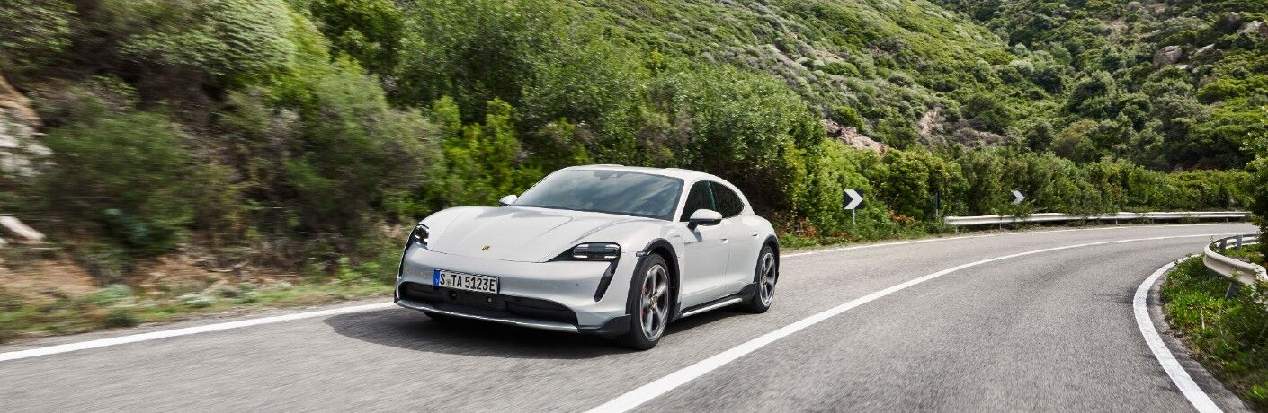 White 2021 Porsche Taycan Cross Turismo