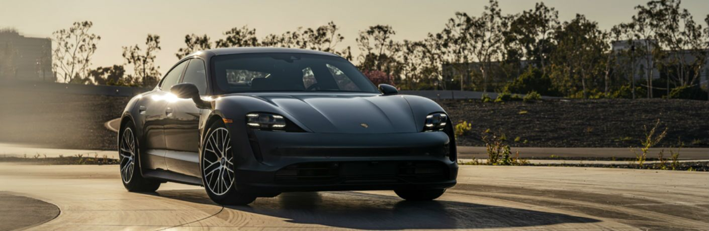 Black 2021 Porsche Taycan