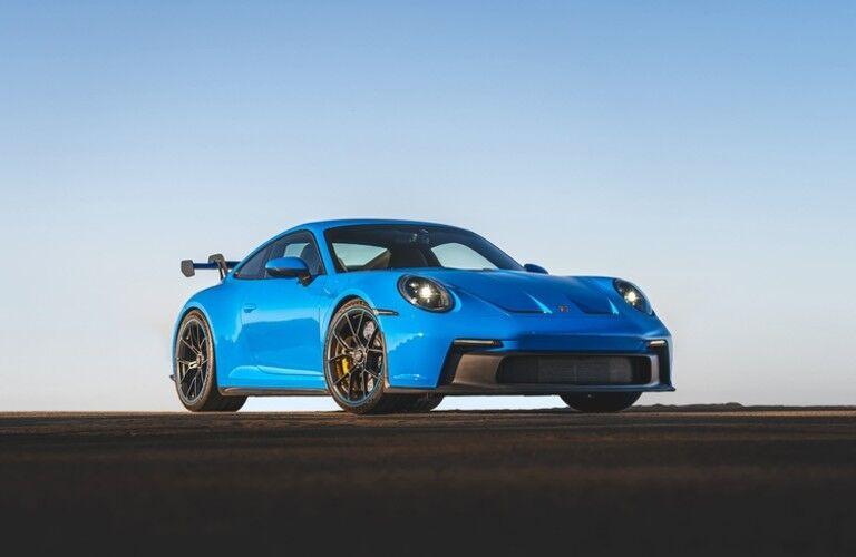 Blue 2022 Porsche 911 GT3