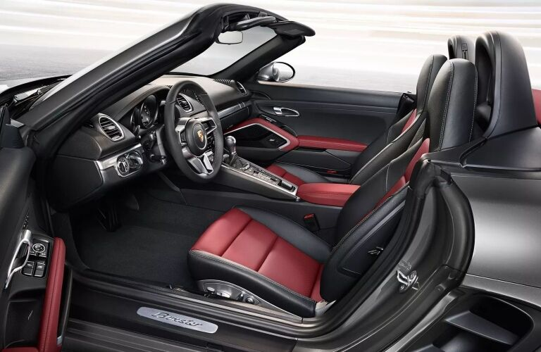 718 Boxster cockpit showcase