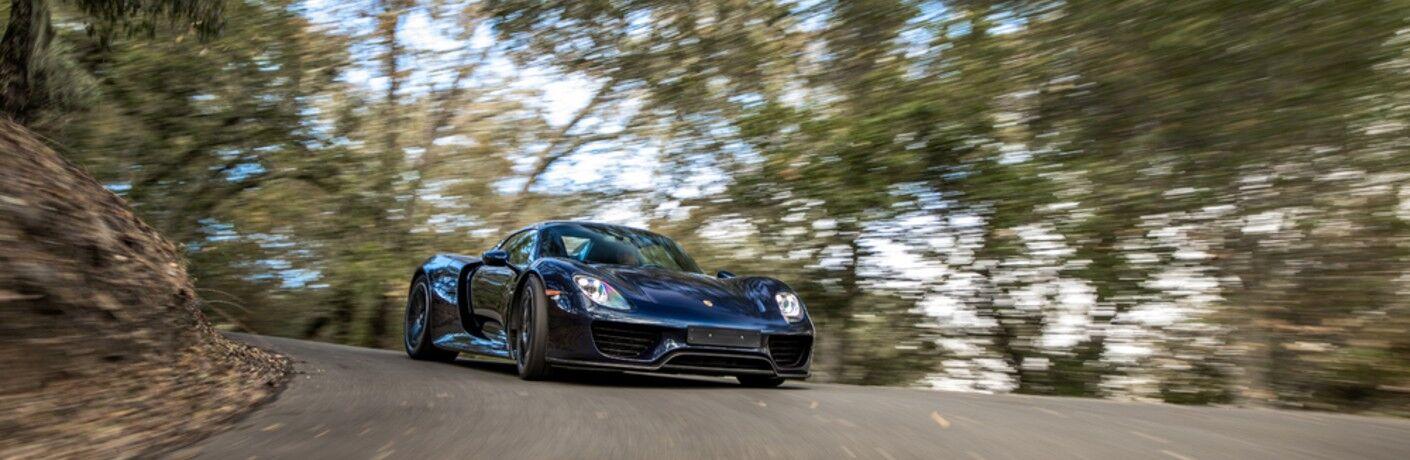 Black Porsche 918 Spyder