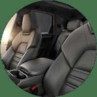 Seats in 2021 Porsche Cayenne