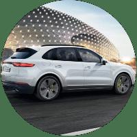 White 2021 Porsche Cayenne