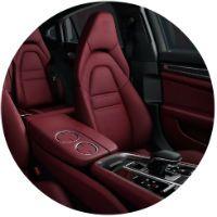 Seats in 2021 Porsche Panamera