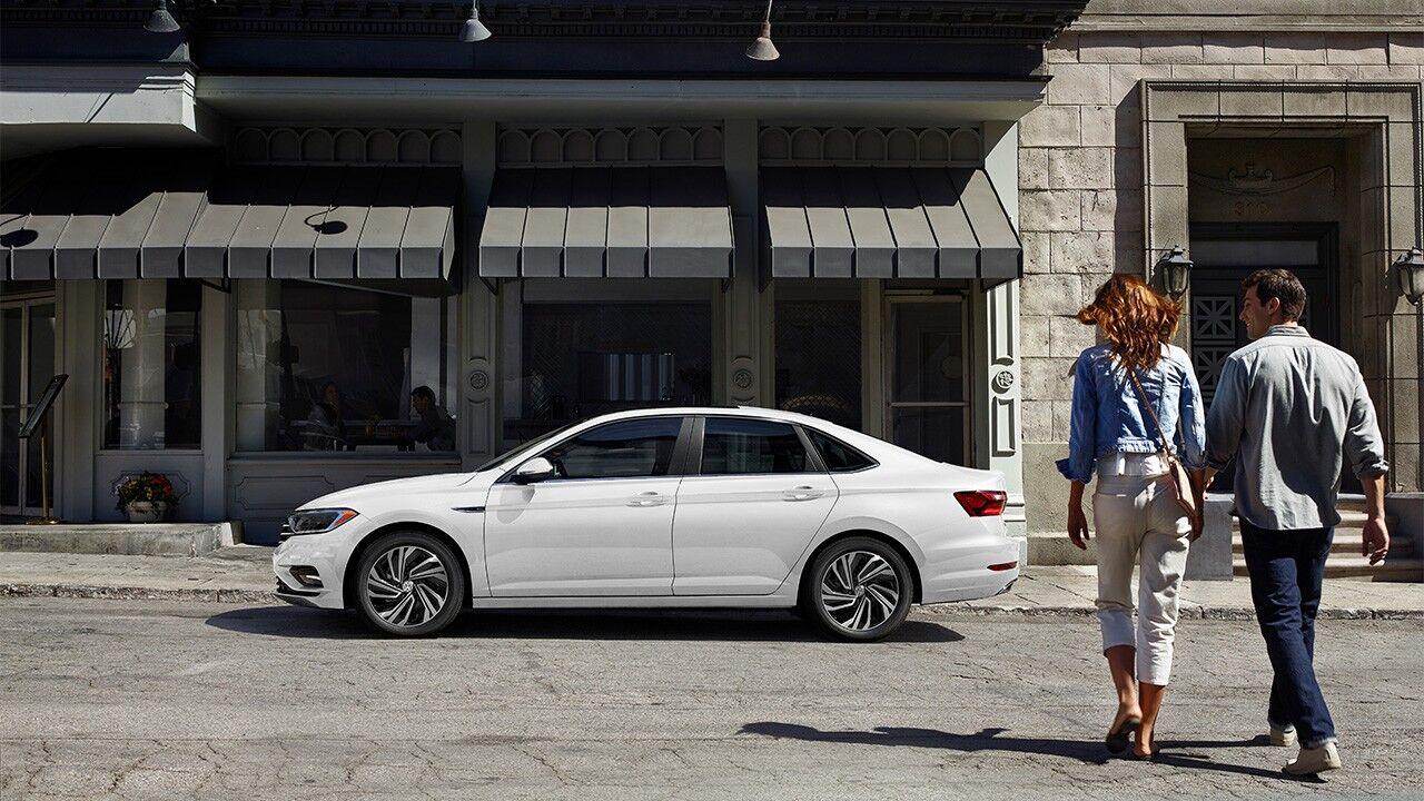 2020 Volkswagen Jetta exterior design features