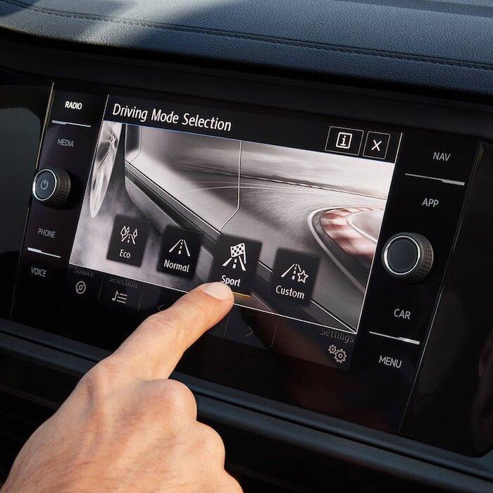 2020 Volkswagen Jetta Driving Mode Selection
