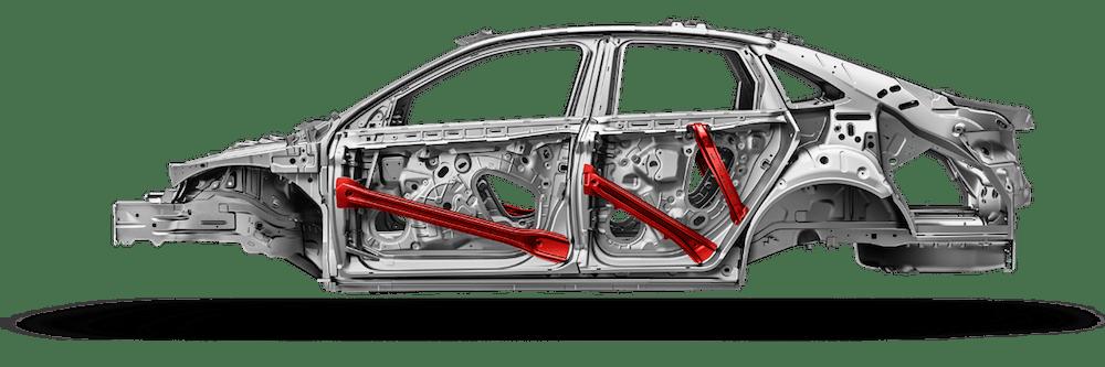 2020 Volkswagen Jetta safety cage with Intelligent Crash Response System (ICRS)