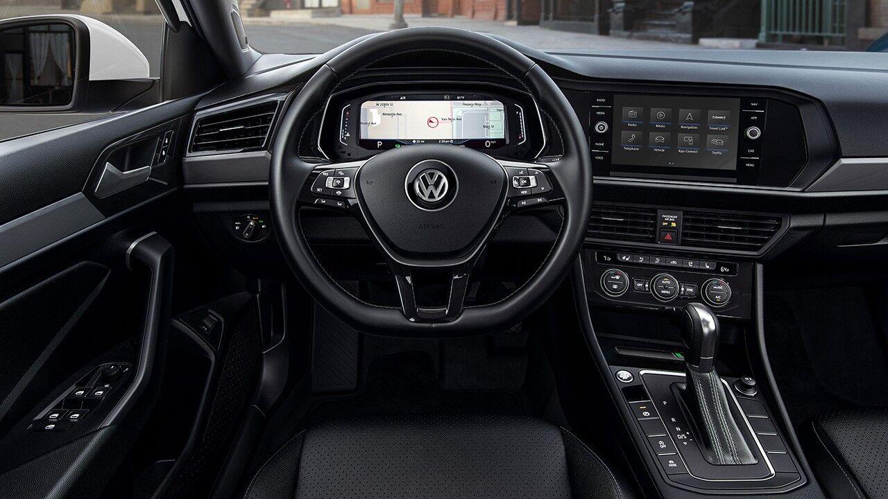 2020 Volkswagen Jetta full screen navigation view