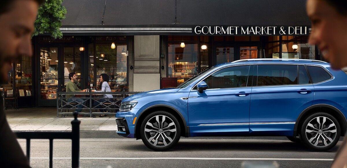 2020 Volkswagen Tiguan exterior design features
