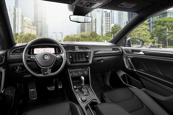 2020 Volkswagen Tiguan well-designed interior