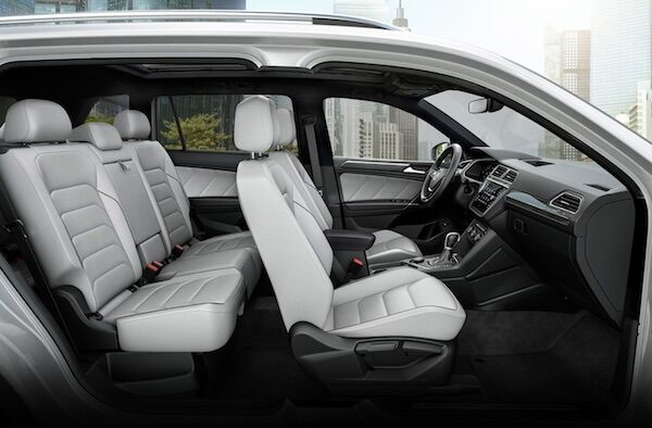 2020 Volkswagen Tiguan vienna leather seating surfaces