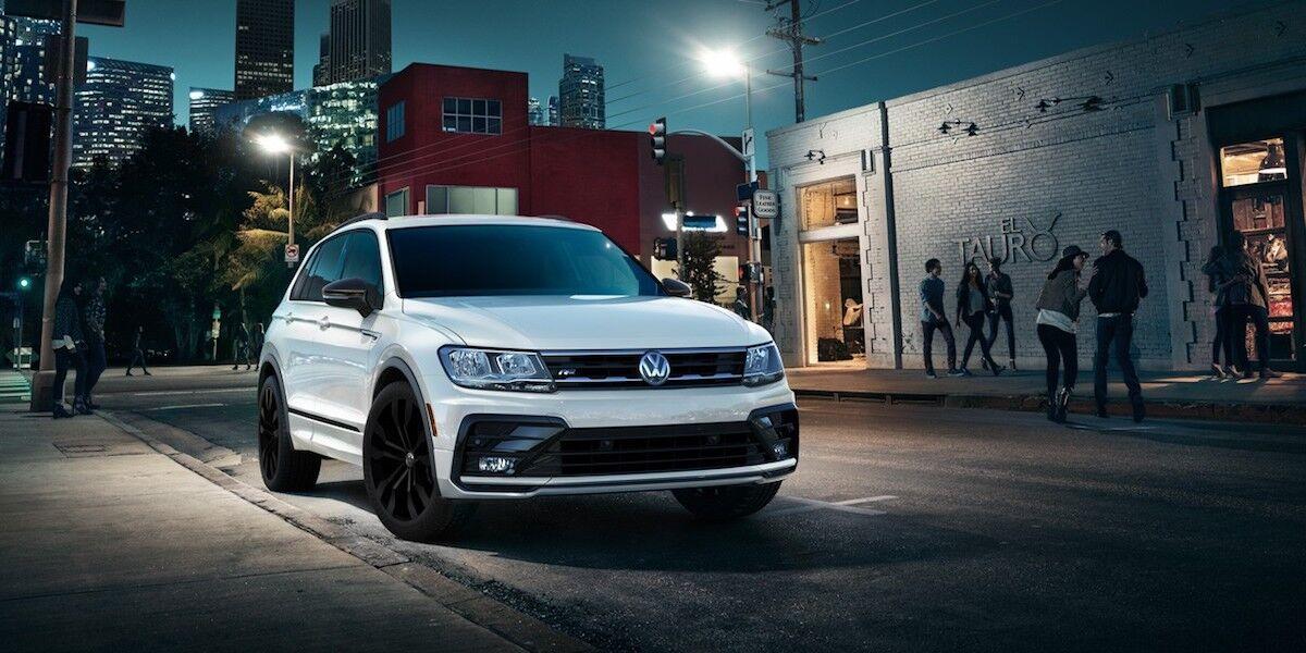 2020 Volkswagen Tiguan R-Line Exterior Design