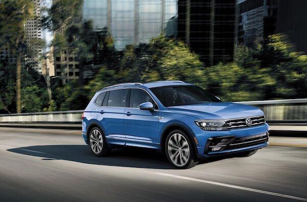 2020 Volkswagen Tiguan Turbocharged Engine