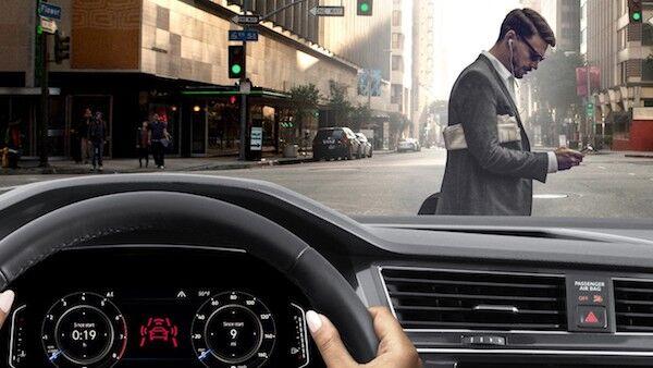 2020 Volkswagen Tiguan Pedestrian Monitoring (included in Front Assist)