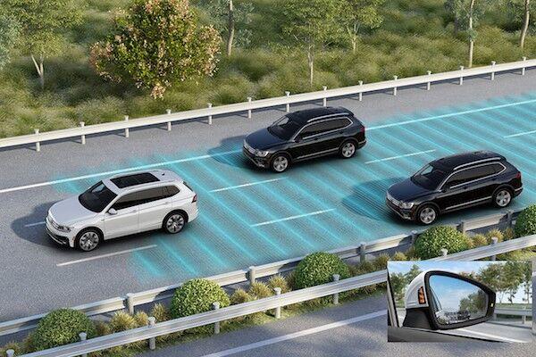 2020 Volkswagen Tiguan Blind Spot Monitor (Side Assist)