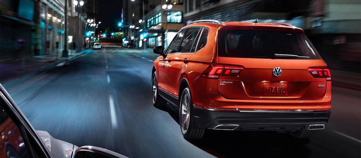 2019 Volkswagen Tiguan starting MSRP vs competition