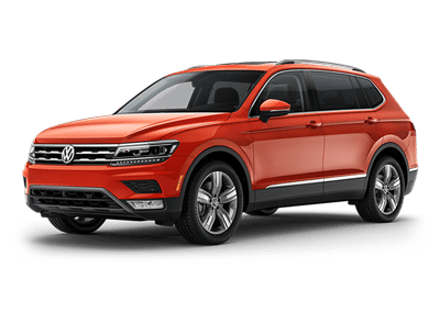 VW Tiguan at San Diego Volkswagen dealership near National City