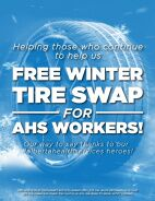 Free Winter Tire Swap for AHS Workers