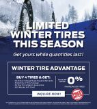 Limited Winter Tires This Season