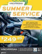Summer Service