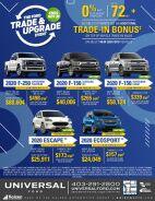 Trade & Upgrade Event