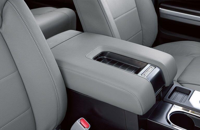 2018 Toyota Tundra center armrest