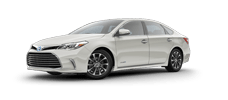 Rent a Toyota Avalon Hybrid in Toyota of Irving