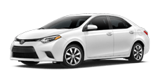 Rent a Toyota Corolla in Toyota of Irving