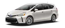 Rent a Toyota Prius v in Toyota of Irving