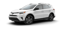 Rent a Toyota Rav4 in Toyota of Irving