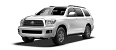 Rent a Toyota Sequoia in Toyota of Irving