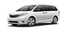 Rent a Toyota Sienna in Toyota of Irving