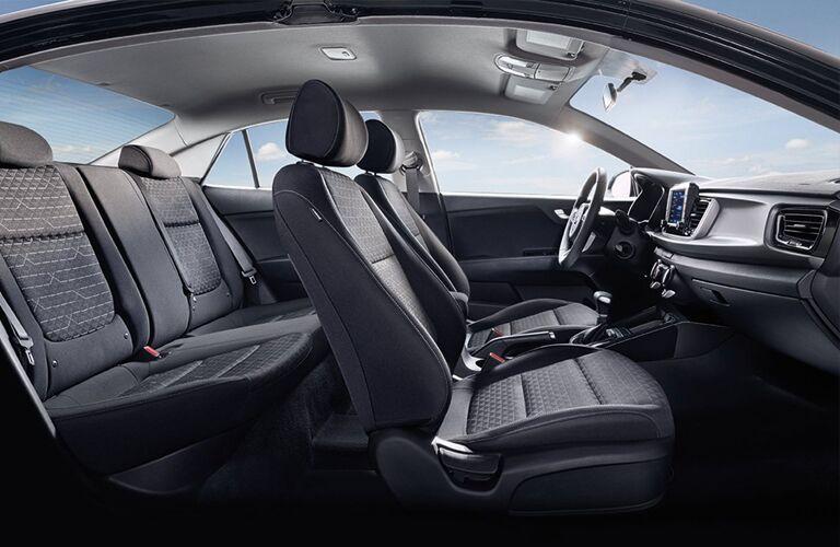 2019 Kia Rio interior passenger seats