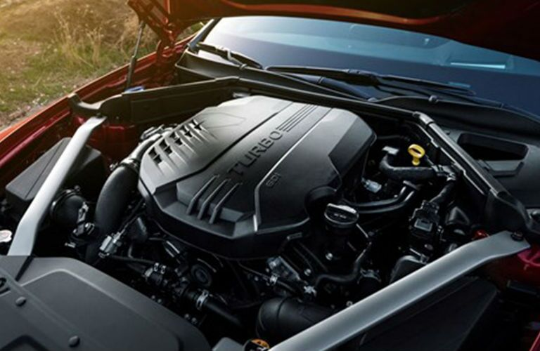 2019 Kia Stinger 3.3-liter V6 engine