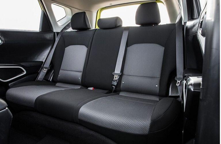 2021 Kia Soul EV interior rear cabin seats