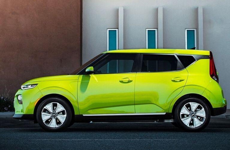2021 Kia Soul exterior driver side profile