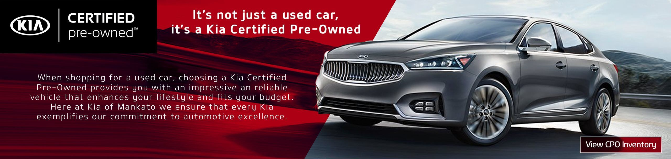 Certified Pre-Owned Kia Vehicles Mankato MN