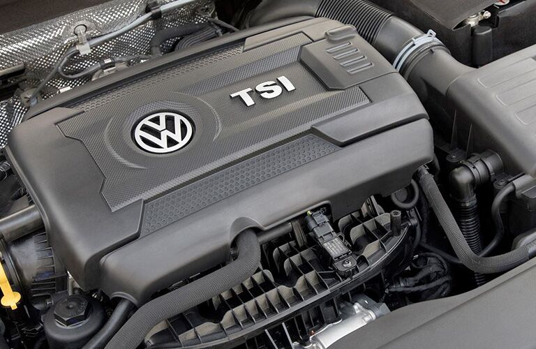 Engine on the 2018 Volkswagen Golf Sportwagen