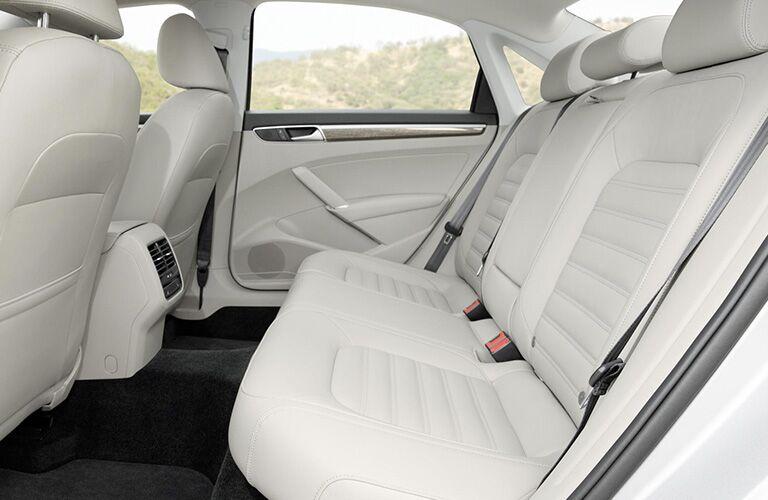 2018 Volkswagen Passat interior second row